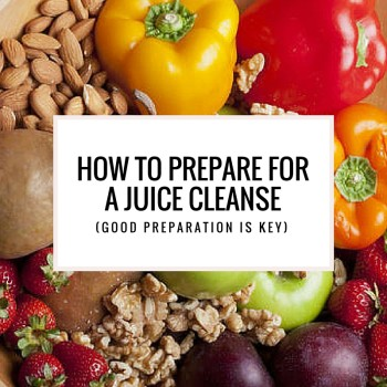 juice cleanse preparation