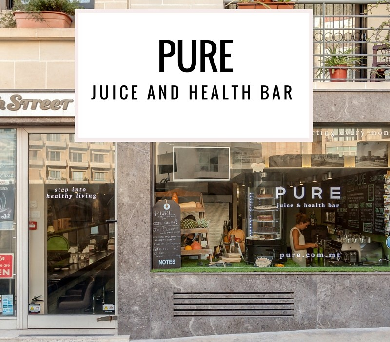pure juice and health bar