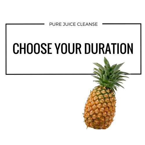 juice cleanse duration